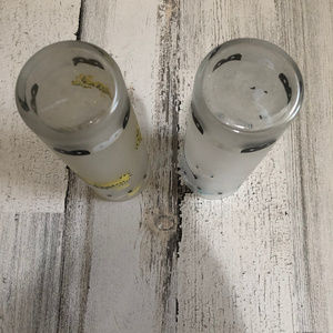 Libbey Dining - Vintage Frosted Libbey Glasses~ Cicus Theme~